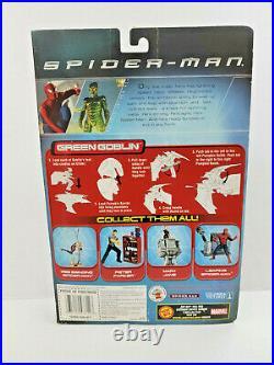 2002 Spider-man Movie Green Goblin Super Poseable Action Figure ToyBiz R101