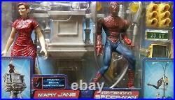 2002 Toybiz Marvel Spider-man Duel Pack Web Swinging Spider Man with MaryJane Rare