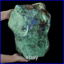 214500Ct Natural High-hardness Spiderweb Turquoise Rough Specimen YKMT26