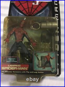 4 Vintage Toy Biz Marvel Spider-Man figure Peter Parker Figures 3 & 1 Mary Jane