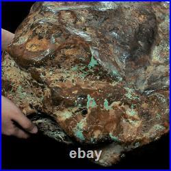 492000Ct Natural High-hardness Spiderweb Turquoise Rough Specimen YKMT25