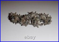 Antique Spider Web Bracelet Victorian Filigree