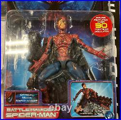 Battle Ravaged Spider-Man Movie Series 3 Figure 2002 ToyBiz Toy Biz