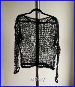 Elena Dawson Spiderweb Knit Sweater