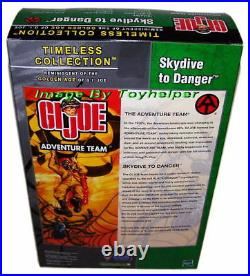GI Joe Timeless Collection Skydive To Danger Kung Fu Gr FAO 2003 Exclusive MISB