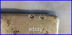 Genuine Imperial Russian. 835 Silver Evening Bag Frame Engraved Spider Web Fly