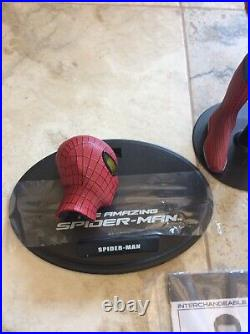 Loose 1/6 Hot Toys Amazing Spider-Man 2 ANDREW GARFIELD/ Spider-Man figure