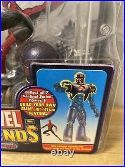Marvel Legends Sentinel Series 1st Appearance Spider-man Figure Toy Biz 2005