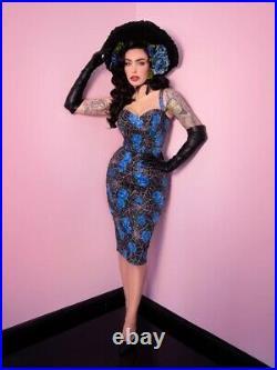 Micheline pitt vixen Spiderweb Dress