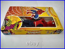 Mint New Old Stock Spider-man Spiderman Web Spinning Fly Away Super Heroes Mego