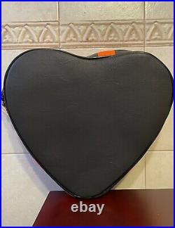 NEW Love Pain Stitches PUMPKIN KULT HEART ORANGE SPIDER WEB BAG Purse Crossbody