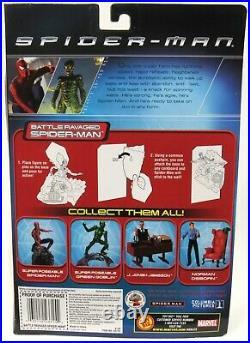 New Sealed ToyBiz Spider-Man Official Movie Battle Ravaged Spider-Man 2002
