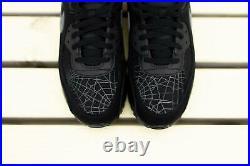 Nike Air Max 90 Spider Web Mens Shoes New Halloween Black Smoke Grey