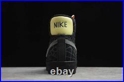 Nike Blazer Mid'77 Shoes Spider Web Halloween Black Limelight DC1929-001 Men's