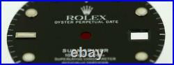 Original Men's Rolex Submariner 40mm 16800 16610 Black Spiderweb Dial S/S #G6