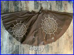 RARE Vintage Skirt 1950s Spider Web Beautiful