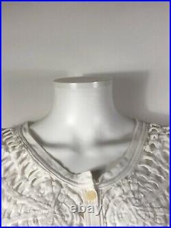 Rare Vtg Jean Paul Gaultier White Spider Web Top S