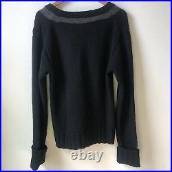 SHINICHIRO ARAKAWA Archive Spiderweb Dropped Shoulders Sweater
