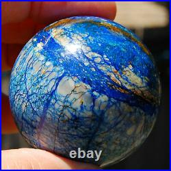 SPHEREFACTOR Awesome Russian Spider-Web AZURITE Ball Sphere