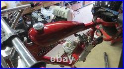 Schwinn Stingray OCC Chopper Bicycle, Spider Web Mini Villain Fuel Tank