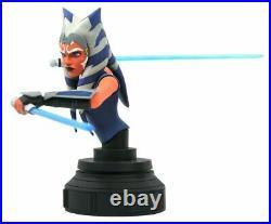 Star Wars The Clone Wars Ahsoka Tano 17 Scale Mini-Bust by Diamond Select