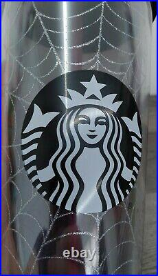 Starbucks Halloween 2019 Spiderweb 24oz Tumbler New