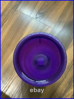 Starbucks Purple Frosted Soft Touch Spiderweb Tumbler Halloween 2021