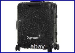 Supreme Rimowa Cabin Plus Spider Web 49L Carry On Black NYC NEW 2019 FW19 White