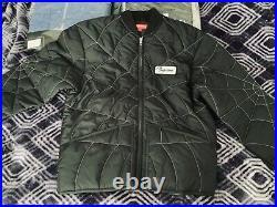 Supreme Spider Web Bomber Jacket