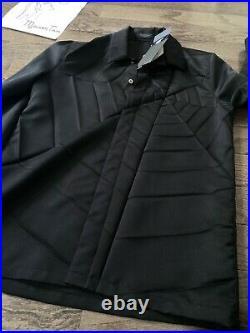 Undercover JUN TAKAHASHI SS20 runway Spiderweb Pleated Shirt size 2