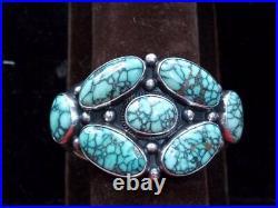 Verdy Jake cluster bracelet with spider web New Lander turquoise