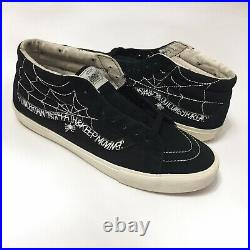 WTAPS x VANS Syndicate Sk8-Mid 2010 Spider Web Black Size 10.5