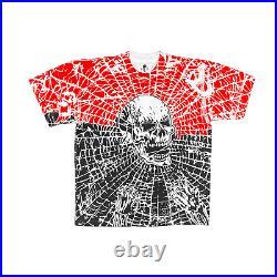 Warren Lotas Spiderweb AllOver Print Tshirt End of Days sz L Brand New Free Ship