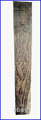 Ziricote Spider Web Grain1.9X 5.5x36 KD deep tilt neck guitar With Check